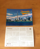 Toronto Postcard front and reverse side