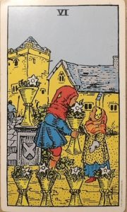 Six of Cups.
