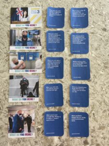 """A photo of the full deck of """"What Do You Meme, Covid-19?,"""" a card game by Payton Flood"""